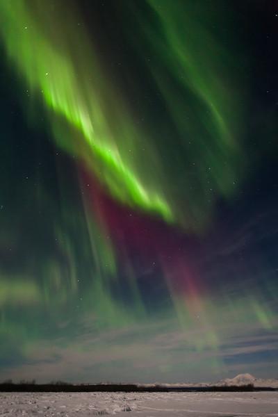 Intense Sky Aurora