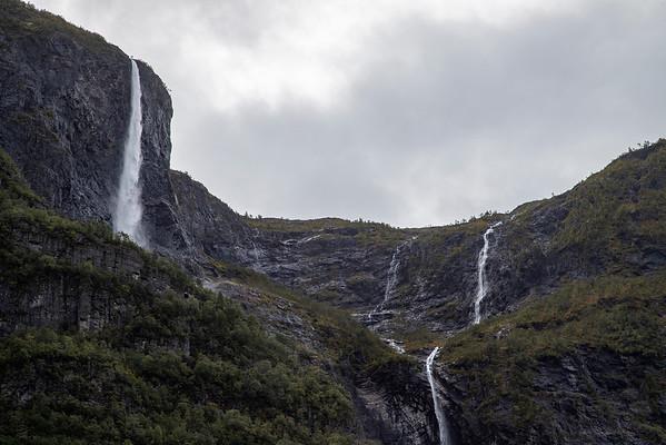 Kjelfossen Waterfall