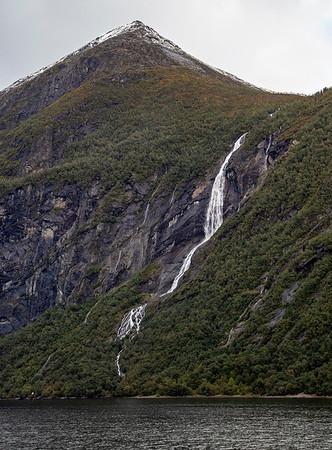 Ljosurfossen Waterfall