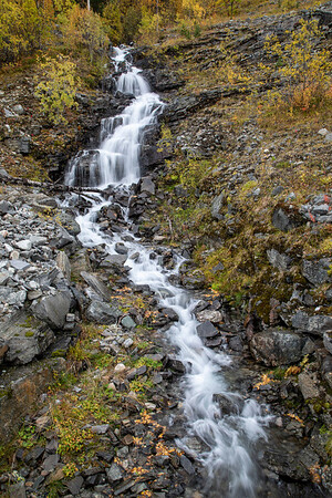 Ristenjohka Waterfall