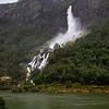 Rjoandefossen Waterfall, Flam Norway. Sept. 15, 2019