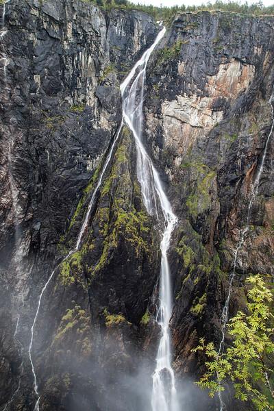 Voringfossen waterfall in Hordaland, Norway. Sept. 14, 2019