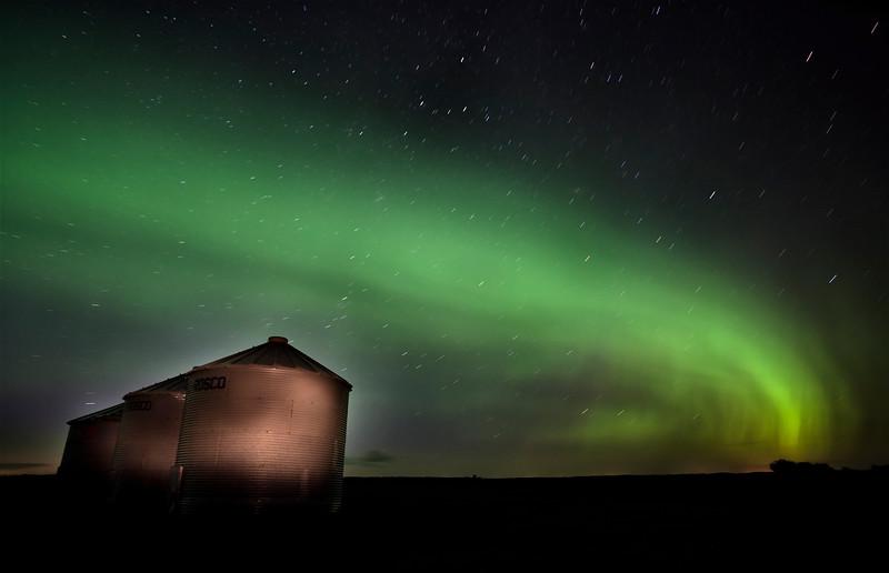 Northern Lights Saskatchewan Canada