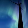 Wind farm south of Gull Lake Saskatchewan