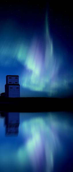 Night Church Northern Lights