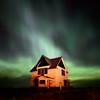 Northern Lights over Southern Saskatchewan