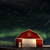 Northern Lights Canada Barn