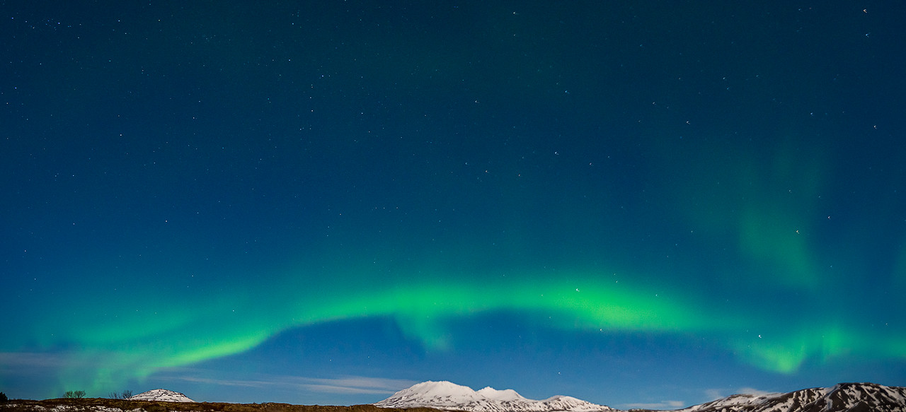 Green Wave across Iceland