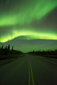 Road to the lights, Ingraham trail Canada