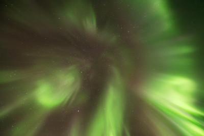 Aurora corona, Yellowknife Canada
