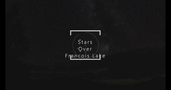 Stars Over Francois Lake