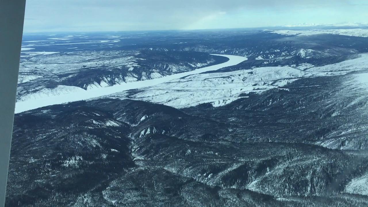 Aerial Video: The Yukon River