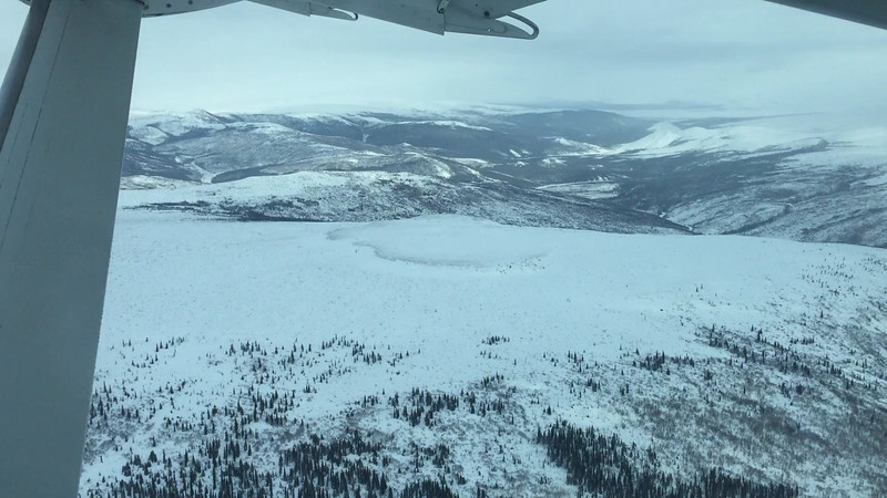Aerial video: Fairbanks to Bettles, Alaska Flight