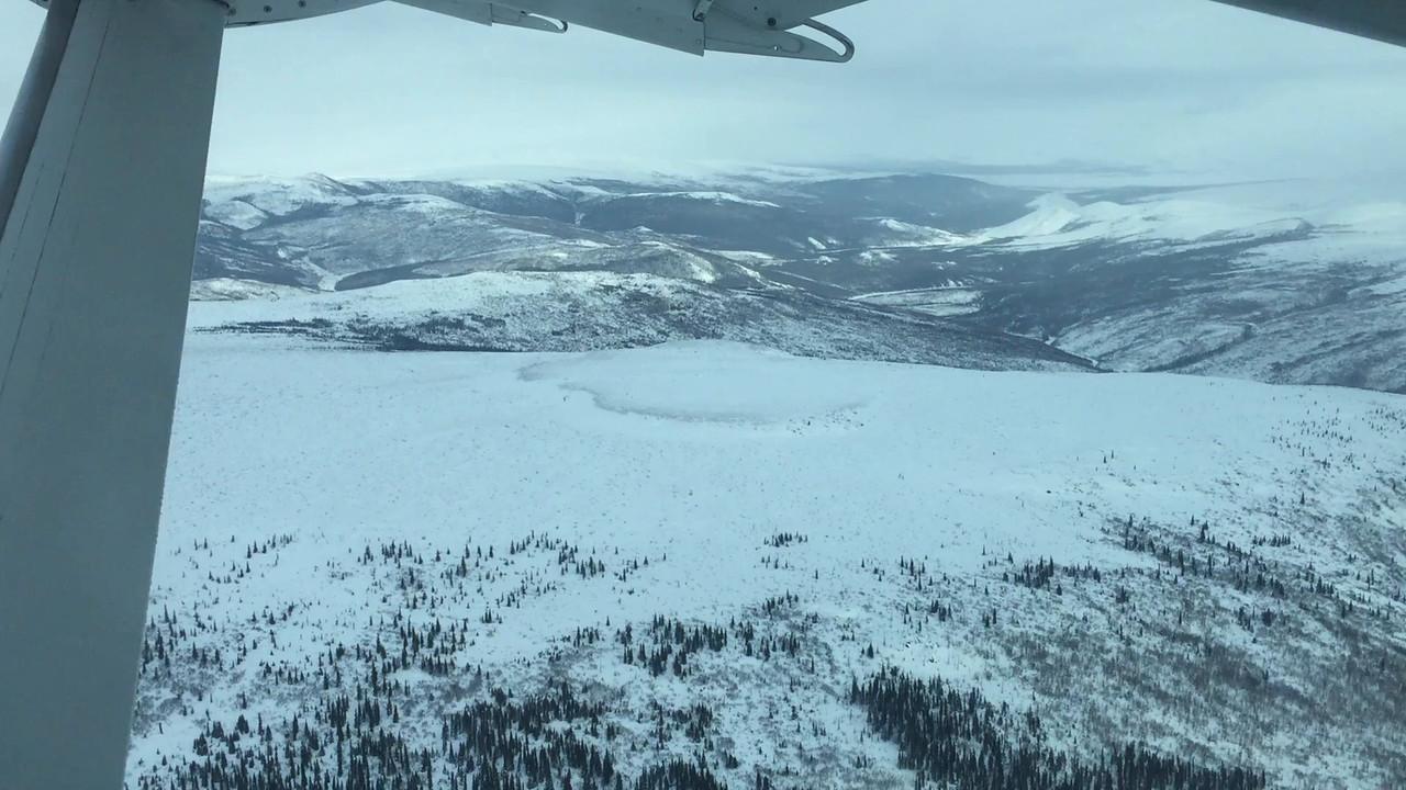 Aerial video: Fairbanks to Bettles, Alaska Flight