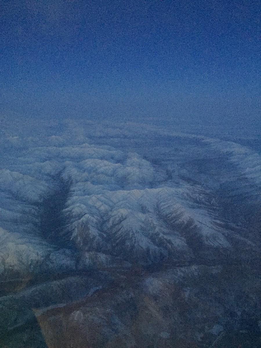 Flying along George Parks Highway
