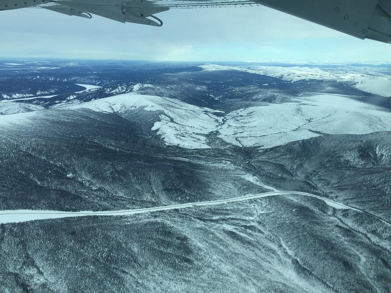 Yukon River and Dalton Highway