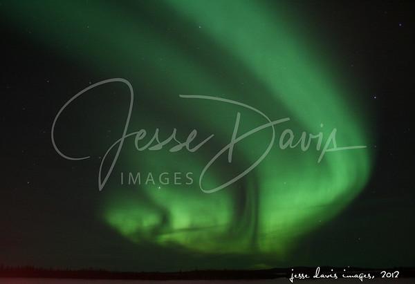 Northern Lights+, Chatanika and Steese Trip, 18-19 Feb 2012