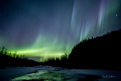 Aurora over Kings River