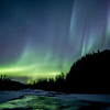 Aurora over Kings River