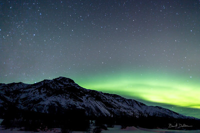 Aurora at Sheep Mountain