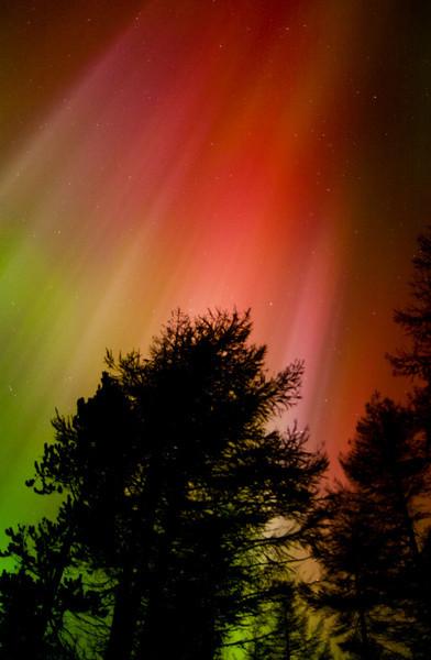 Colourful Aurora Storm
