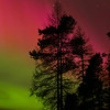 Colourful Aurora Storm