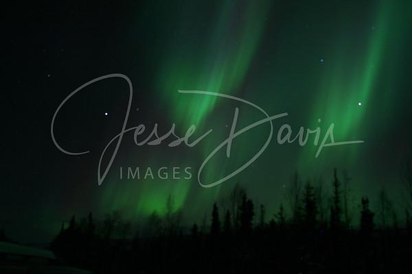 Northern Lights, Chatanika, 22 Jan 2012