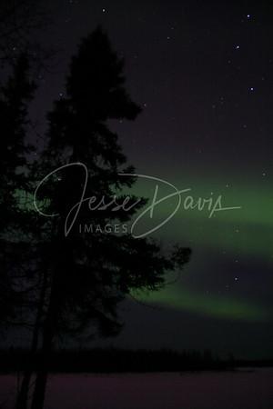 Northern Lights, Chena Lakes, 15 Mar 2012