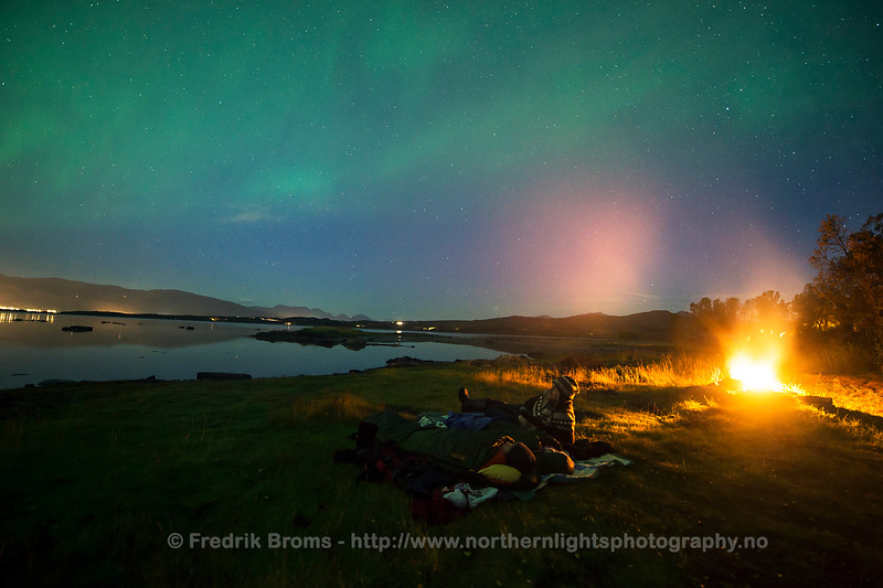 Sleeping under the Stars, Northern Norway