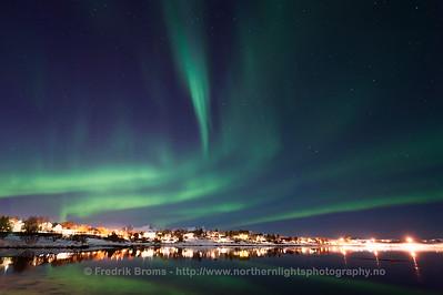Auroras over Vesterålen