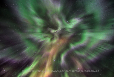 Strong Corona during Solar Storm