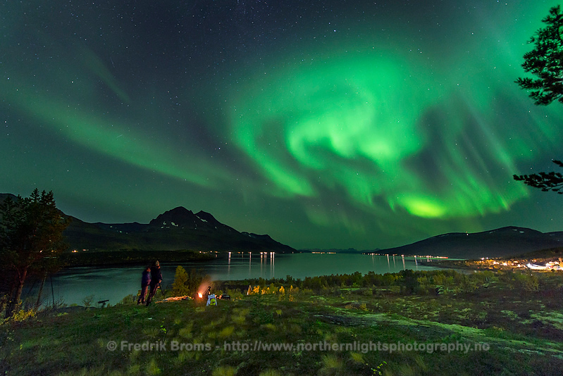Autumn Northern Lights, Straumhella, Norway