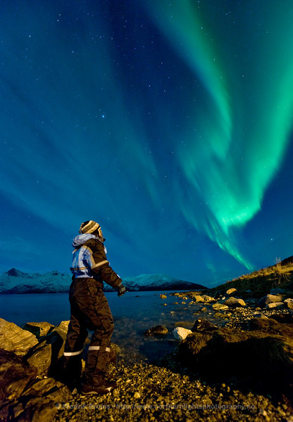 Watching Aurorae, Norway