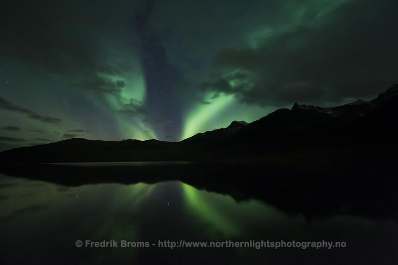 Tundra Lake by Night, Norway