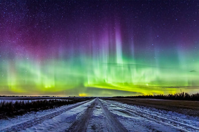 New Years Eve Aurora