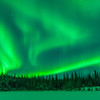 Credit: Sherman Hogue/Explore Fairbanks<br /> <br /> Aurora near Fairbanks, Alaska.