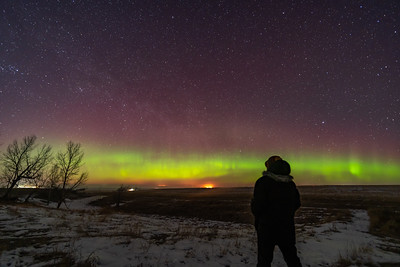 Watching the Equinox Aurora (March 20, 2020)