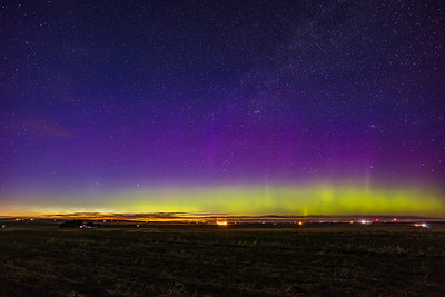 Aurora and Distant NLCs (June 11-12, 2021)