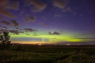 Aurora from Home on June 10, 2021