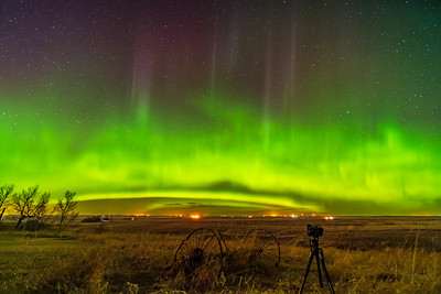 Aurora with Camera Shooting (April 16, 2021)