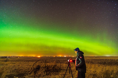 Aurora Selfie #2 (April 16, 2021)