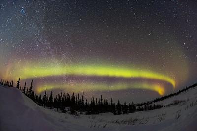 Auroral Arc - Dual Arc Example