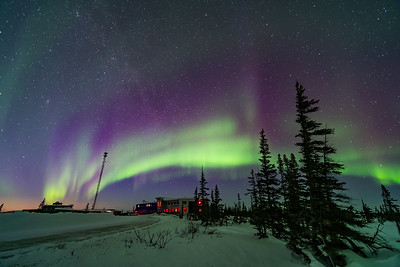 Aurora over Rocket Range Road
