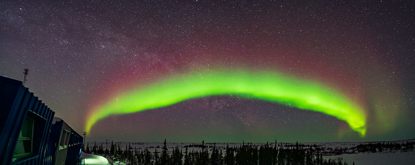 Arc of the Auroral Oval (March 14, 2020)