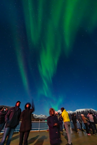 Observing the Northern Lights from ms Trollfjord (Oct 16, 2019) v4