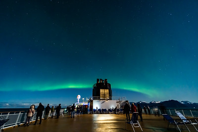 Observing the Northern Lights from ms Trollfjord (Oct 16, 2019) v7