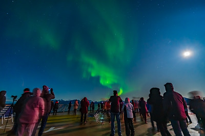 Observing the Northern Lights from ms Trollfjord (Oct 16, 2019) v5
