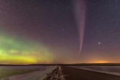Isolated Auroral Arc East