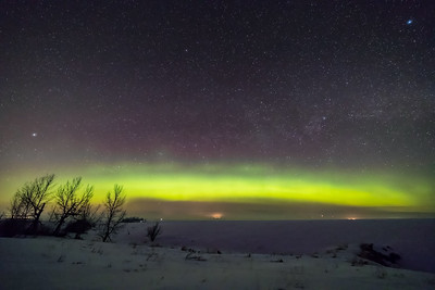 Auroral Arc to the North