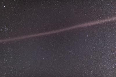 Isoslated Auroral Arc Overhead